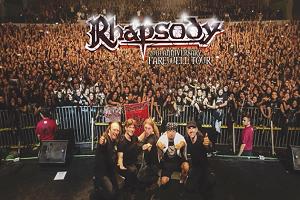 Rhapsody: Ανακοινώνουν την Ευρωπαϊκή Περιοδεία της 20ης τους Επετείου με την Οποία μας Αποχαιρετούν