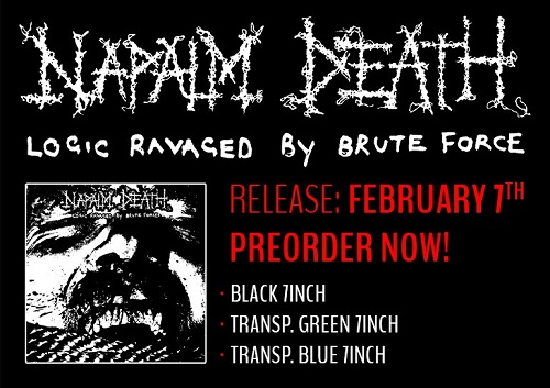 napalm death logic ravaged by brute force