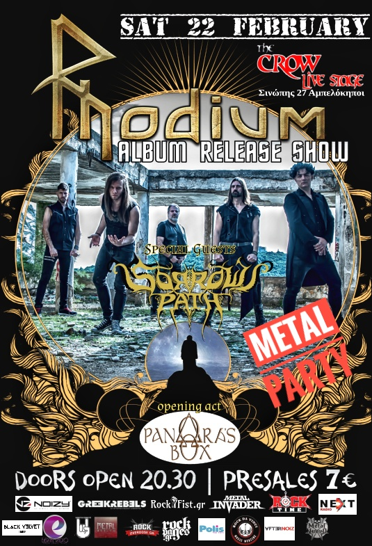 rhodium release live party