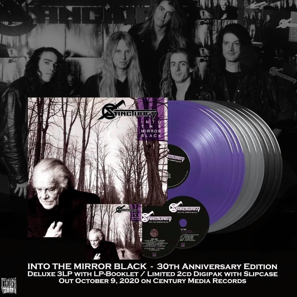 """SANCTUARY – to release 30th Anniversary Edition of """"Into The Mirror Black"""