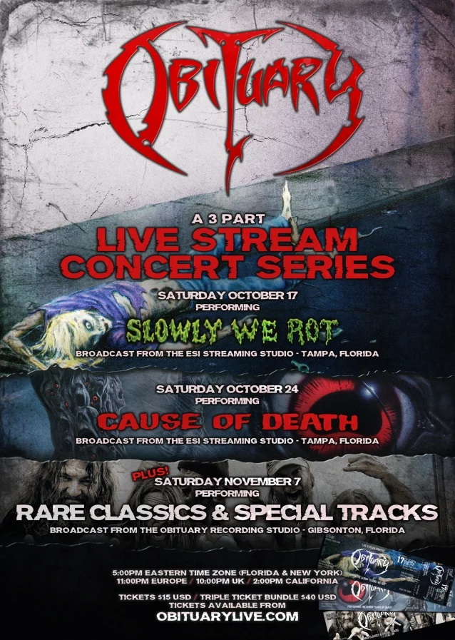 obituary live streaming events
