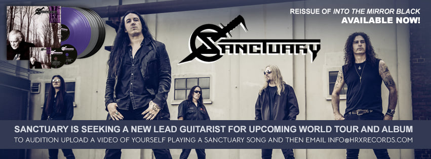 Sanctuary - Audition for lead guitarist