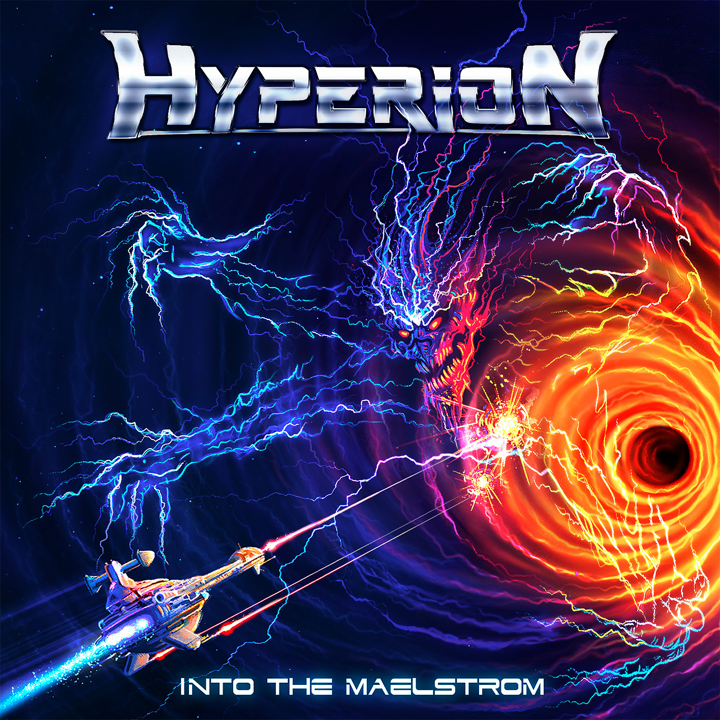 Hyperion - Into the Malestrom CD art