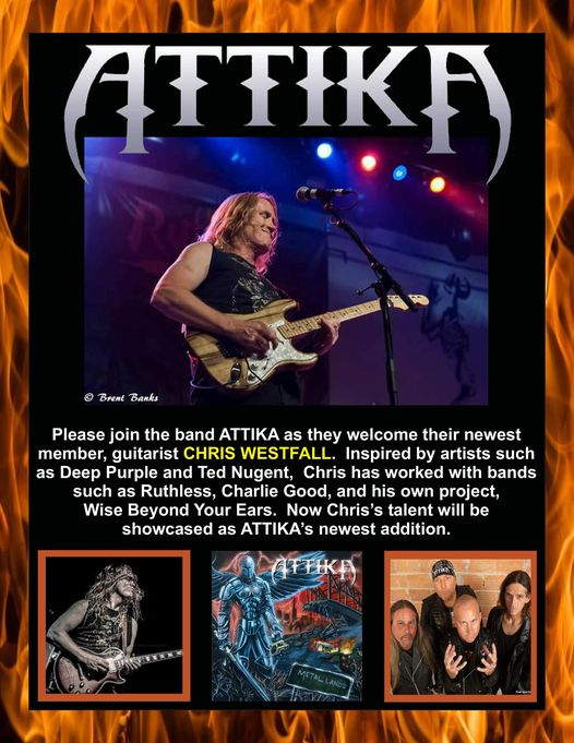 Attika new guitarist Chris Westfall