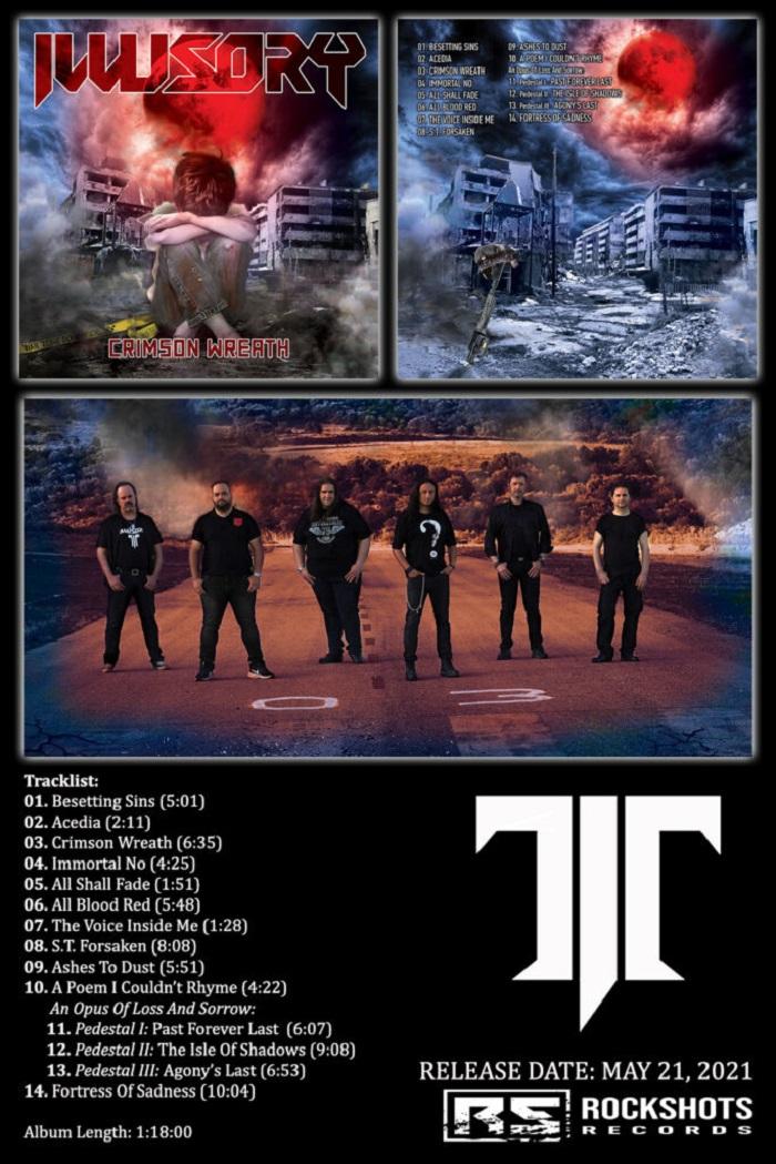 "ILLUSORY CRIMSON WREATH"" Full Artwork & Tracklist"