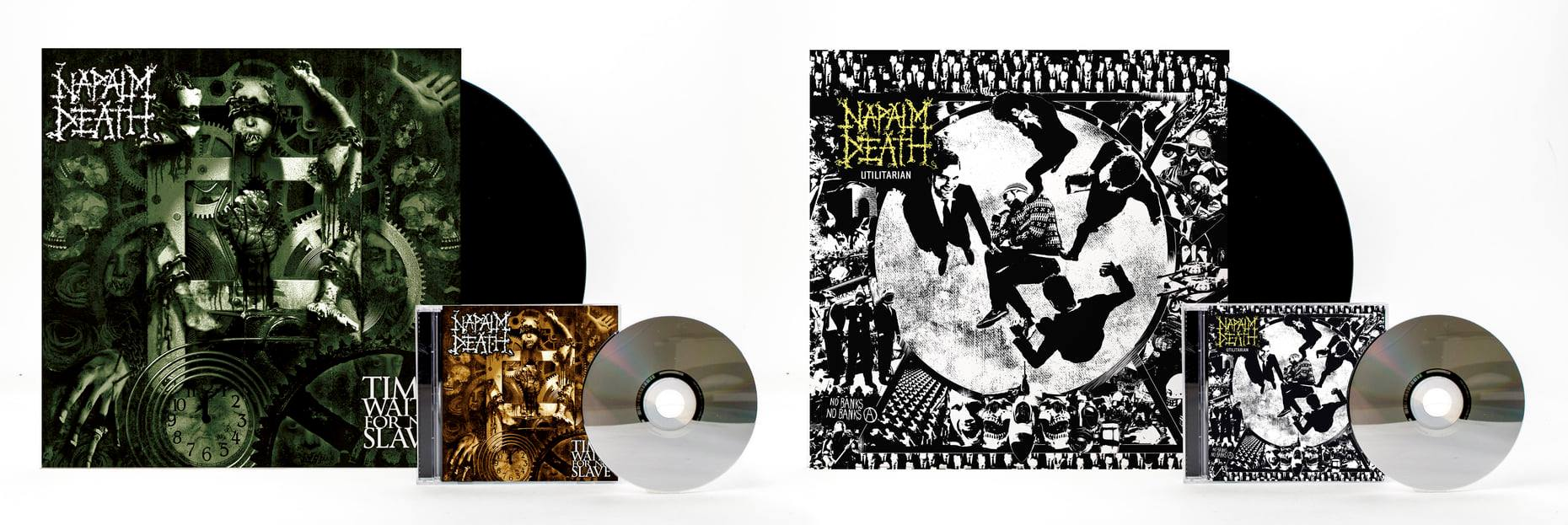Napalm Death Time Waits For No Slave Utilitarian
