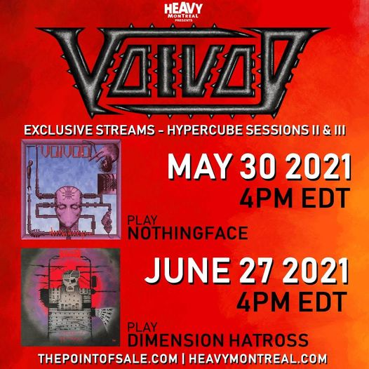 Voivod Exclusive Streams -Hypercube Sessions