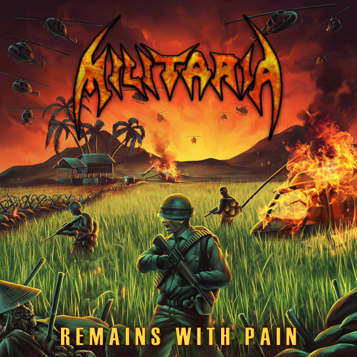 Militaria - Remains With Pain