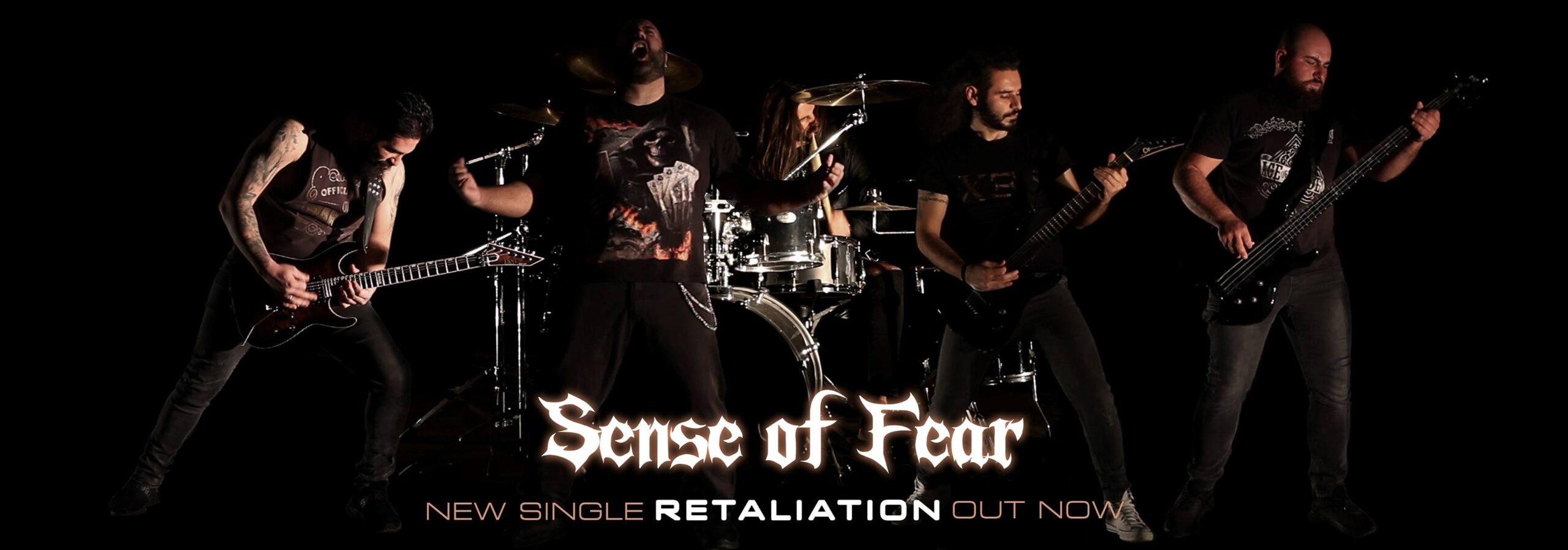 Sense of Fear - New single Retaliation