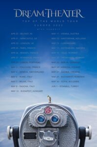 Dream Theater - Top Of The World Tour το 2022